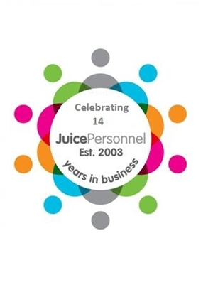 Juice Personnel celebrate our 14th Birthday!