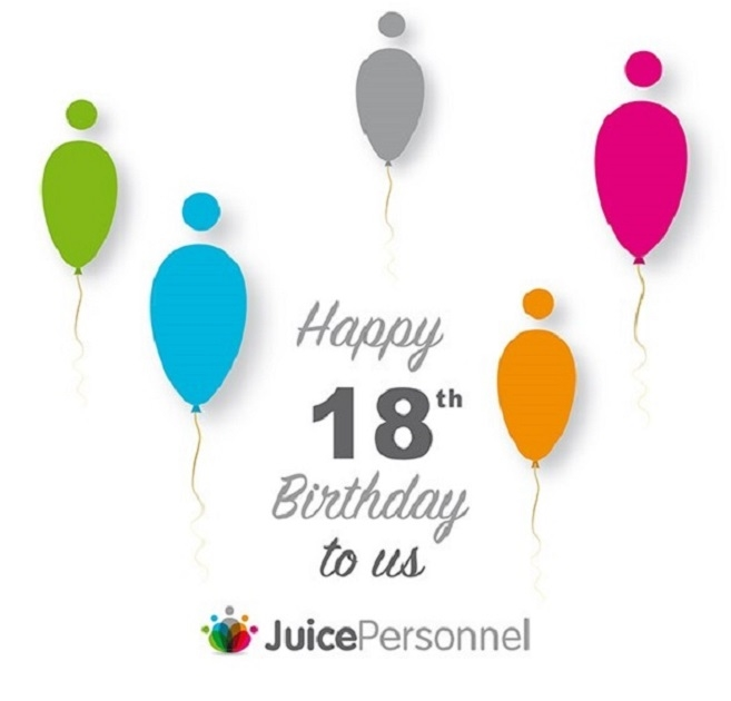 Happy 18th Birthday to Juice Personnel!